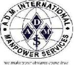 A.D.M. INTERNATIONAL MANPOWER SERVICES COMPANY logo